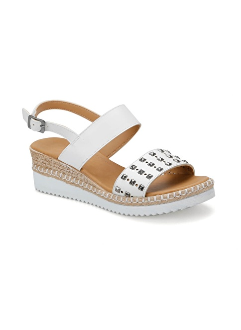 Art Sandalet Beyaz